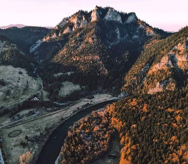 Pohorie Tri Koruny v Pieninách