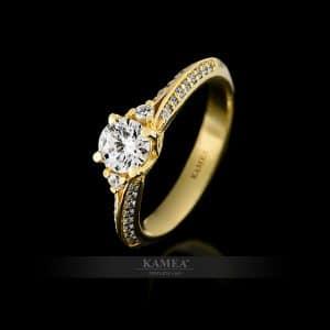 Zásnubný prsteň 36873-1
