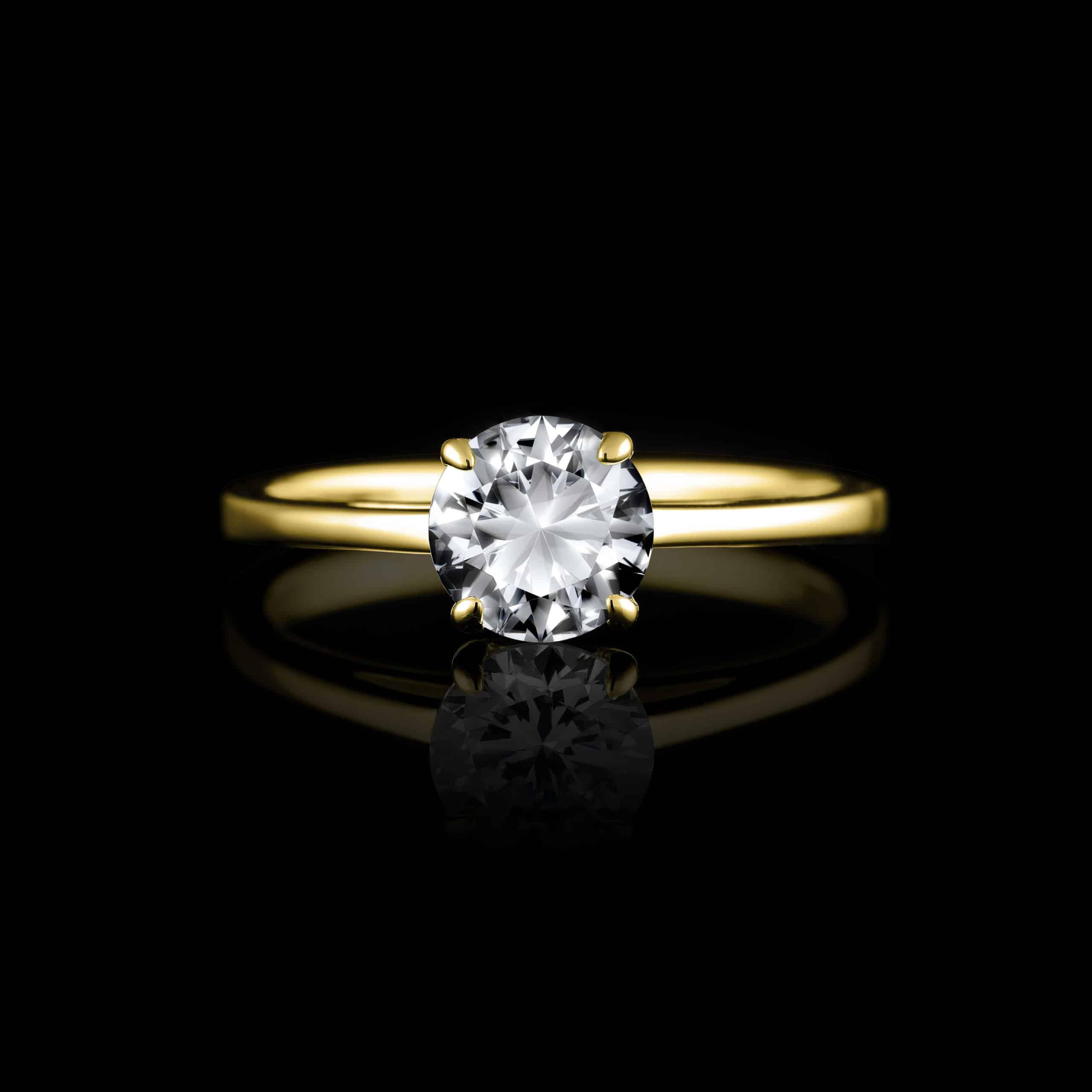 Prstene s jedným kameňom