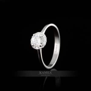 Zásnubný prsteň Sí-09