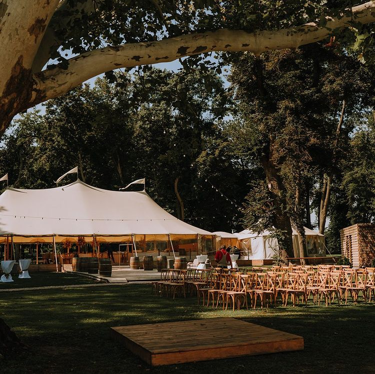 chateau, ruban, svadba, miesto, svadobny, den