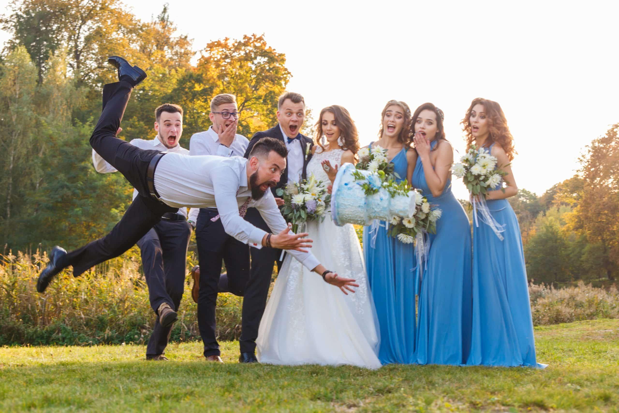 vtipná svadba