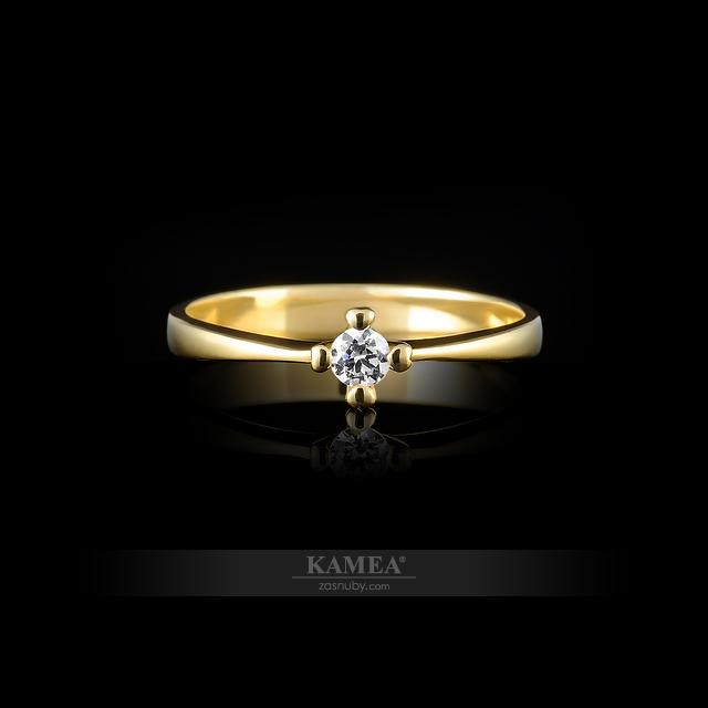 KAMEA 2089ZP zo žltého zlata