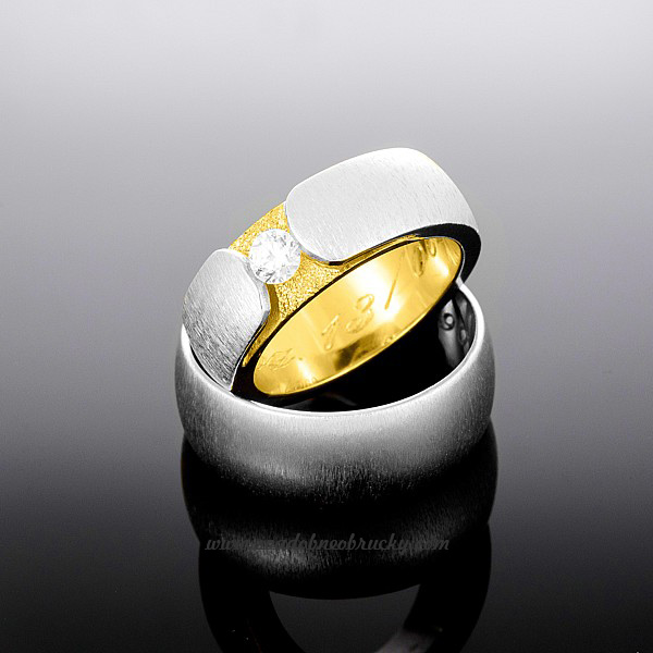 Biele + žlté zlato